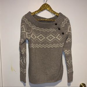 Lole off the shoulder sweater